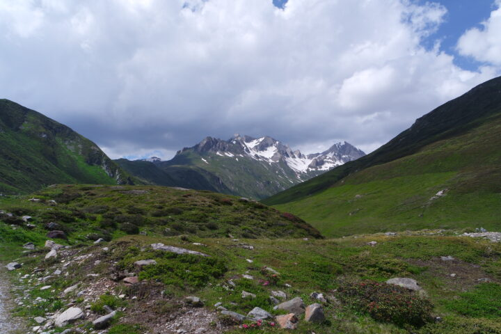 View in the Hohe Tauern